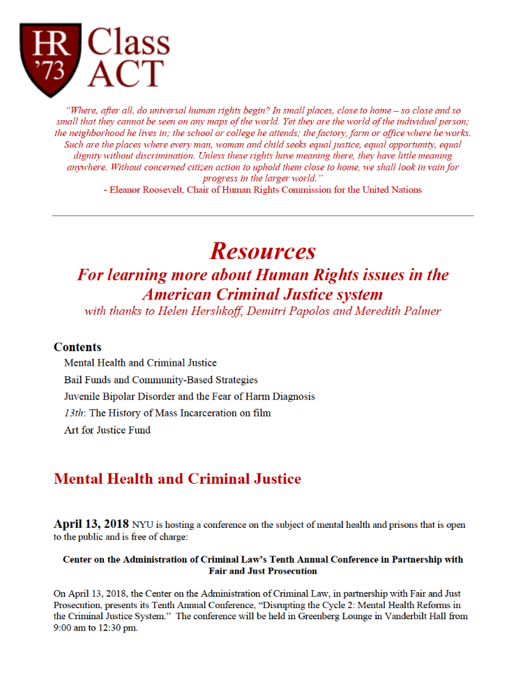 Human Rights Resources Preview
