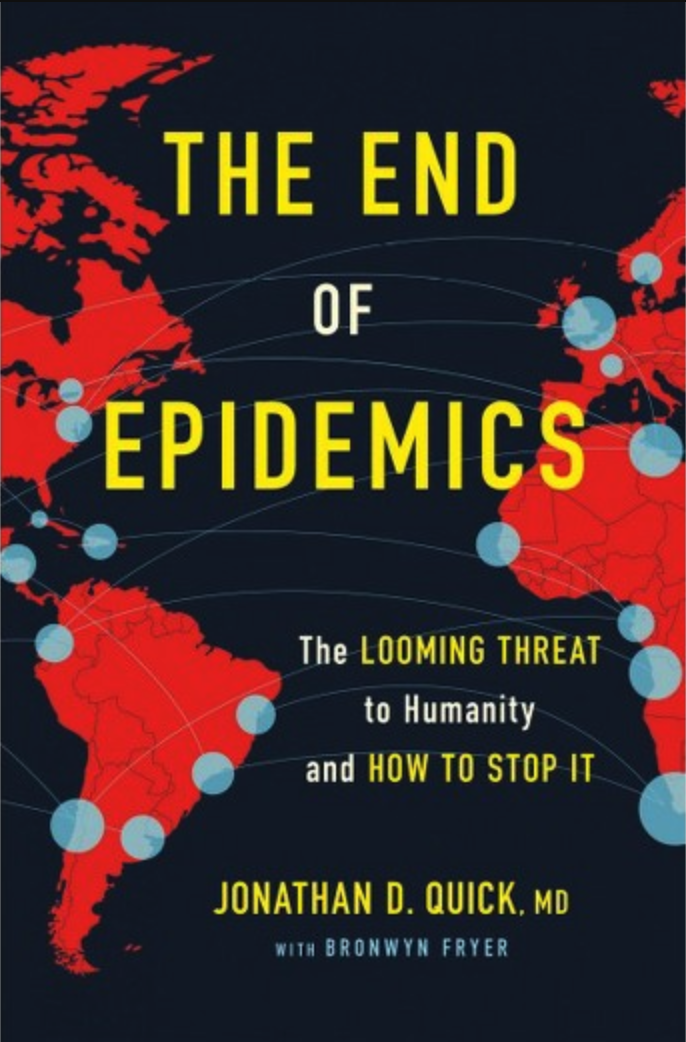 Book cover of The End of Epidemics